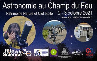 Festival d'Astronomie au Champ du feu !